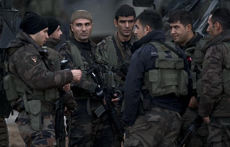 Бойцы формирований иракских курдов