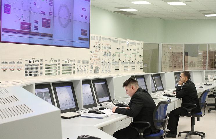Блочный пункт управления энергоблоком Белоярской АЭС (Бн-800)