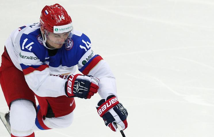 Александр Кутузов в составе сборной России на ЧМ 2014