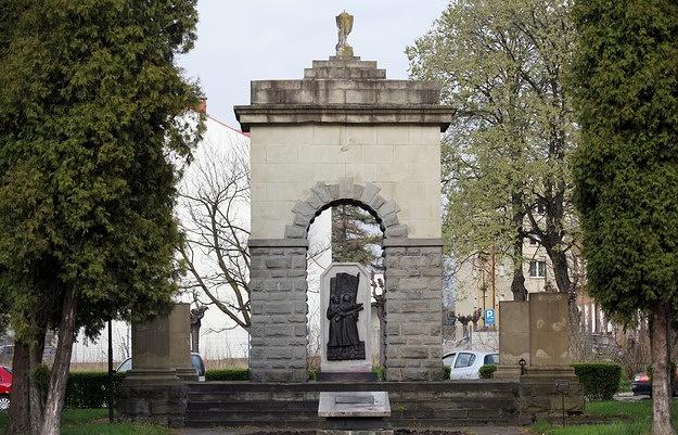 Памятник Красной Армии в городе Новы-Сонч