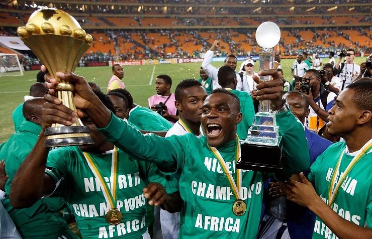 Победители Кубка Африки-2013 - сборная Нигерии