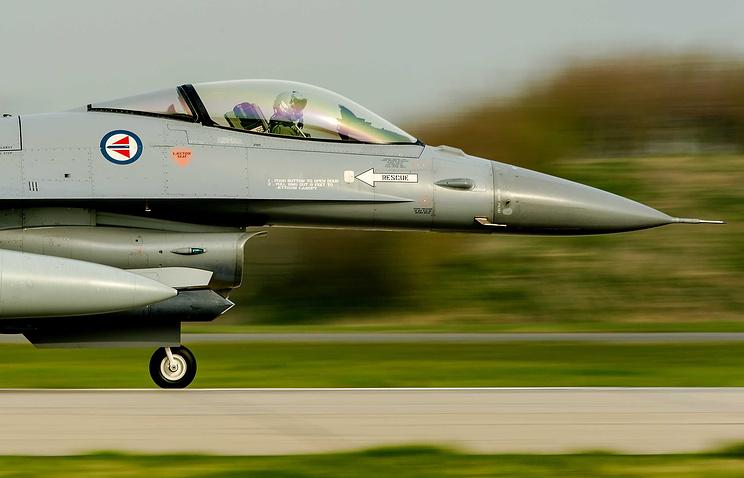 Истребитель F-16 ВВС Нидерландов