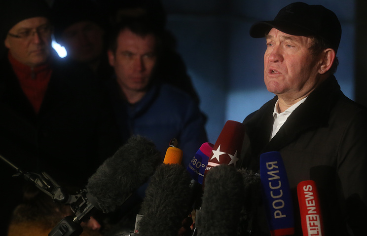 Заммэра Москвы Петр Бирюков