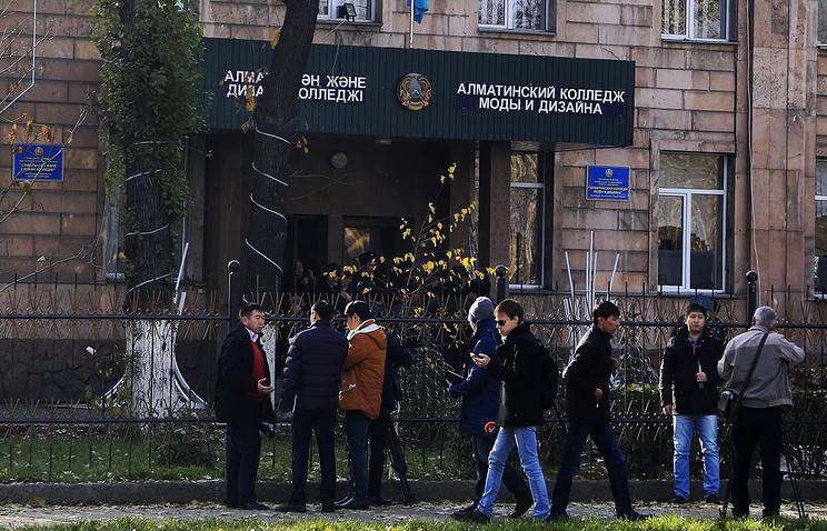 Здание колледжа, где произошел взрыв