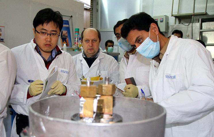 Эксперты МАГАТЭ в Иране