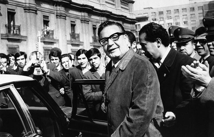 Сальвадор Альенде. 1970 год