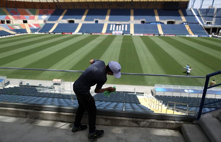 Футбольный стадион в Иерусалиме