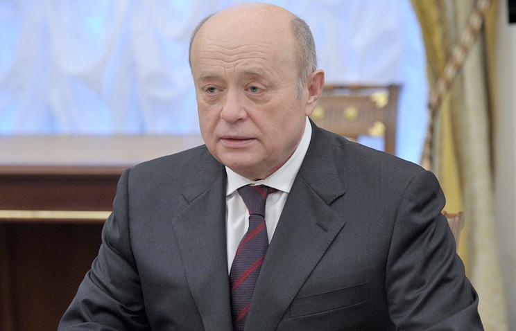 Глава Службы внешней разведки РФ Михаил Фрадков