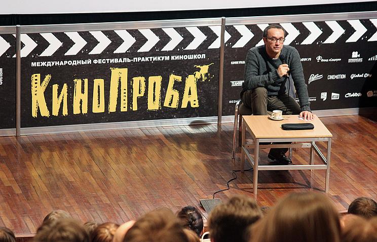 "Режиссер Андрей Звягинцев на фестивале ""КиноПроба"""