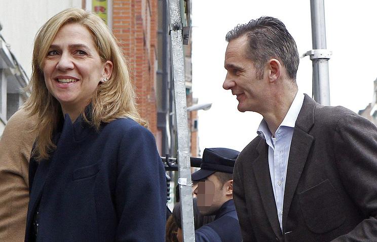 Инфанта Кристина де Бурбон и ее муж Иньяки Урдангарин
