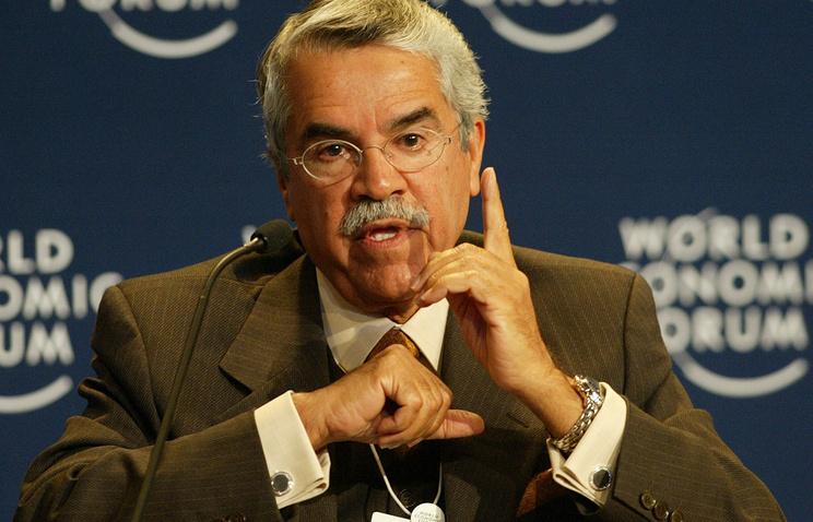 Министр нефти и минеральных ресурсов Саудовской Аравии Али ан-Нуайми