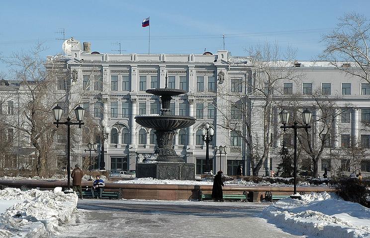 Здание мэрии Омска