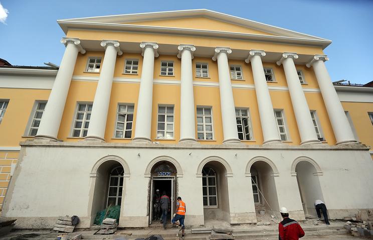Здание музыкальной школы имени Гнесиных