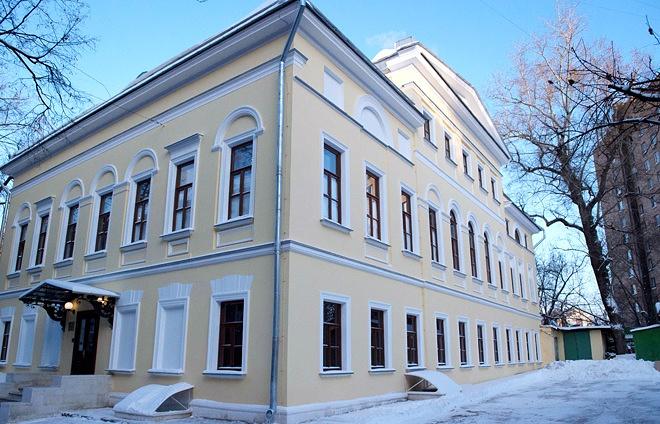 Новое здание Литературного музея в Шелапутинском переулке