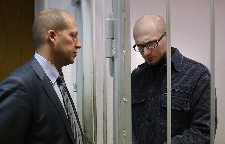 Адвокат Дмитрий Аграновский и Олег Миронов (слева направо)