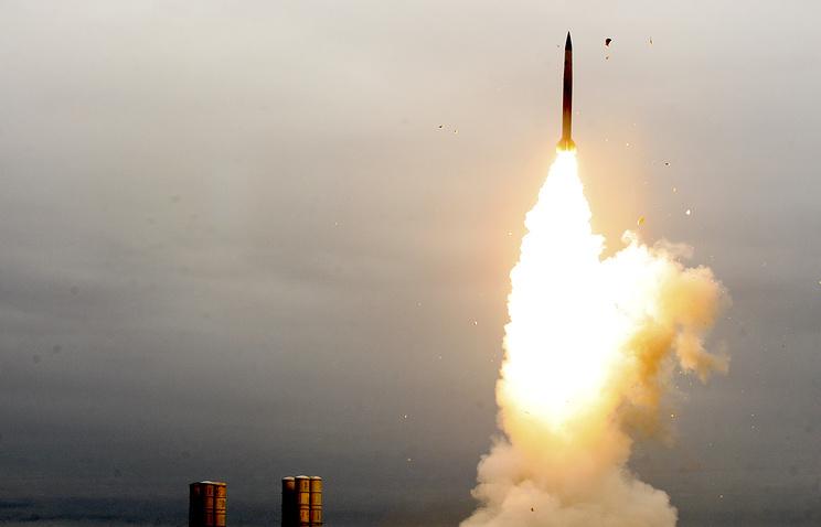 Во время стрельб зенитного ракетного комплекса С-300