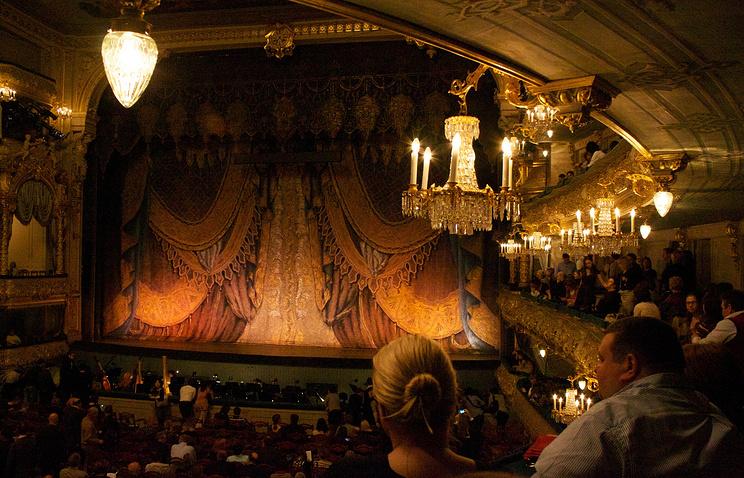 Зрительный зал Мариинского театра