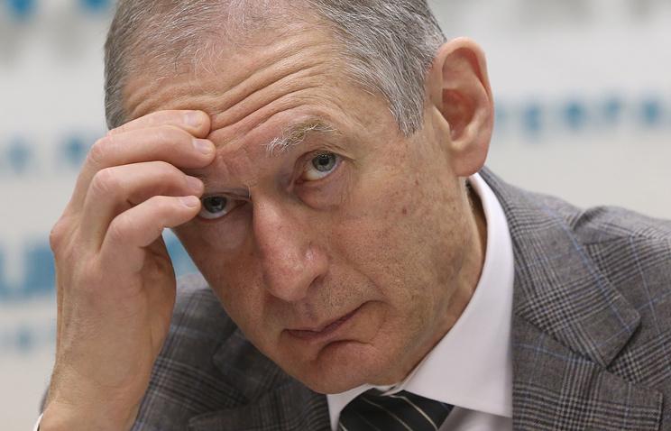 Первый заместитель председателя Центробанка РФ России Алексей Симановский