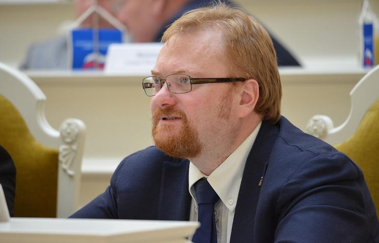 Депутат Законодательного собрания  Виталий Милонов