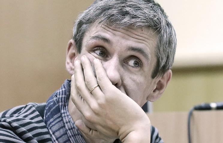 Актер Алексей Панин на заседании Ленинского районного суда