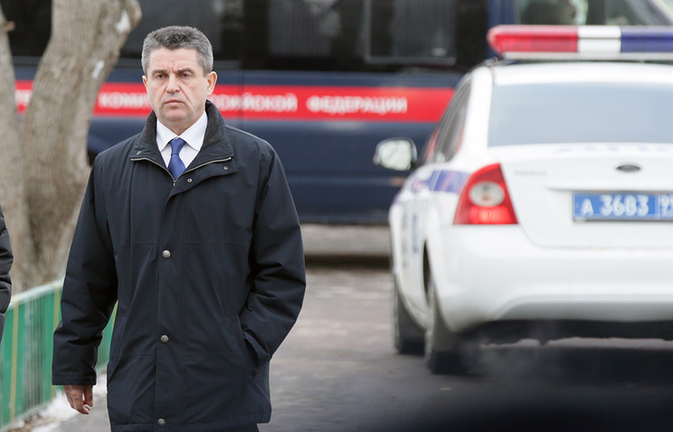 Руководитель управления взаимодействия со средствами массовой информации СК РФ Владимир Маркин