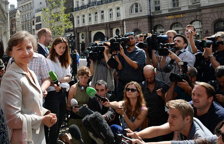 """Публичные слушания по """"делу Литвиненко"""" в Лондоне, июль 2014 года"""