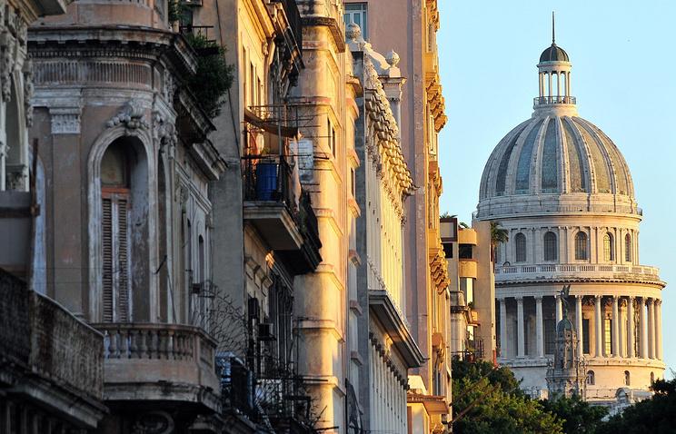 Куба. Гавана. Здание Капитолия