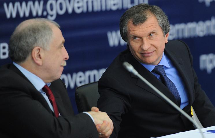Илья Клебанов и Игорь Сечин