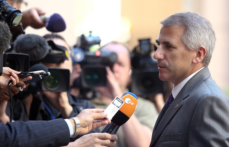 Глава представительства ЕС в РФ Вигаудас Ушацкас