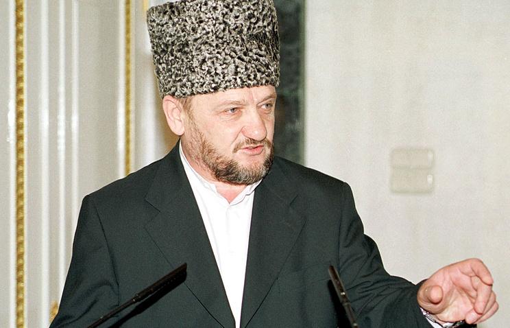 Ахмад-Хаджи Кадыров. 2000 год
