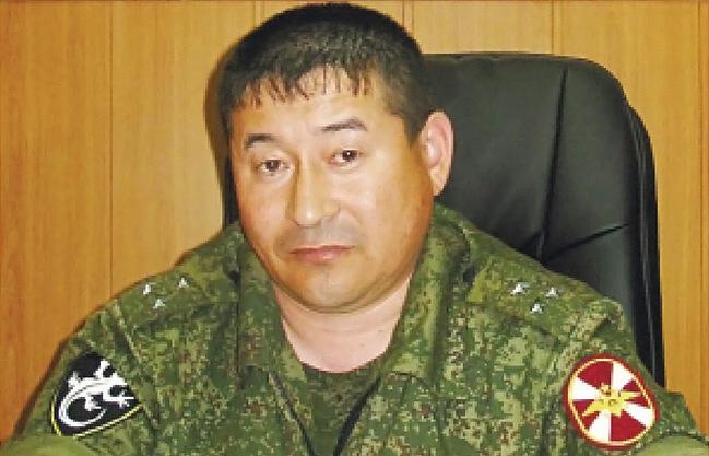 Полковник Серик Султангабиев