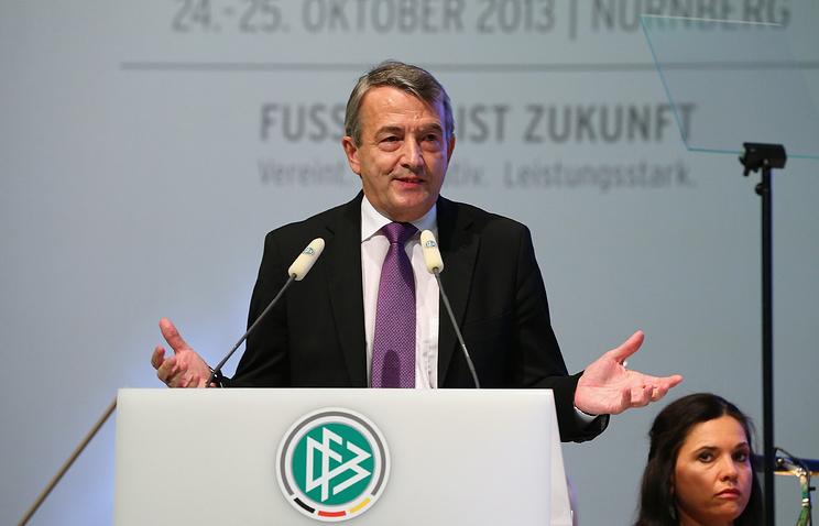 Президент ДФБ Вольфганг Нирсбах