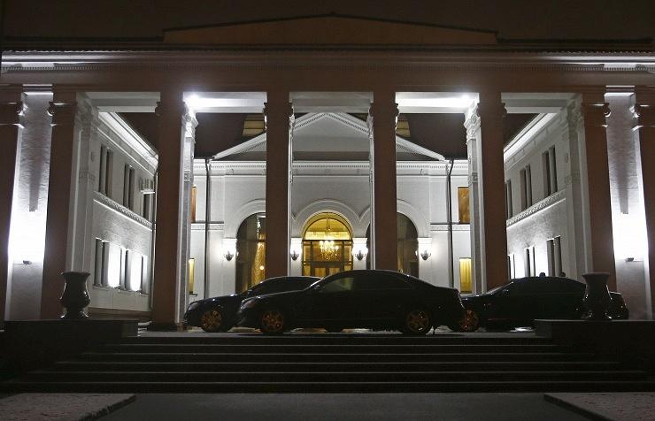 Правительственная резиденция в Минске, где проходило заседание Контактной группы 24 декабря
