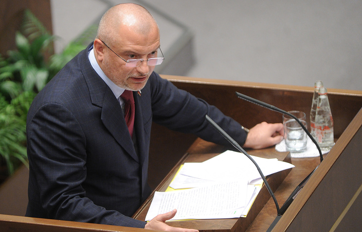 Глава комитета Совфеда по конституционному законодательству и государственному строительству Андрей Клишас