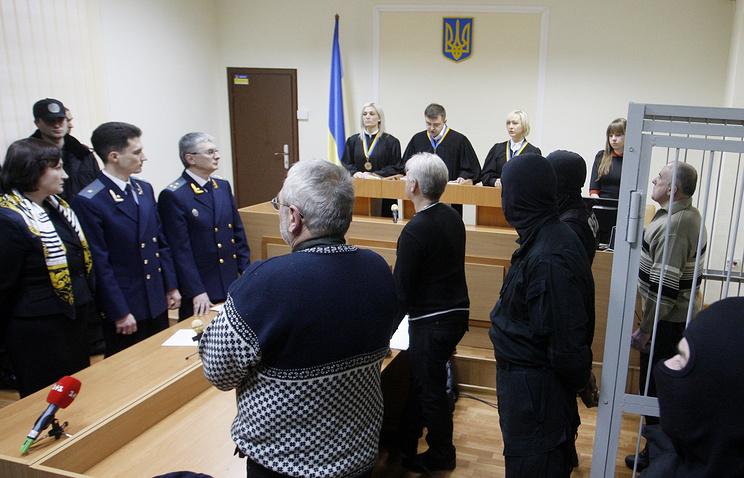 Оглашение приговора А.Пукачу, 29 января 2013 года