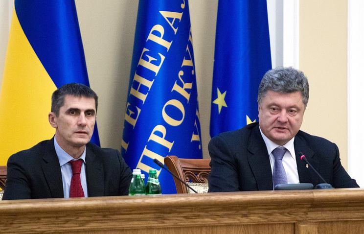 Виталий Ярема и Петр Порошенко