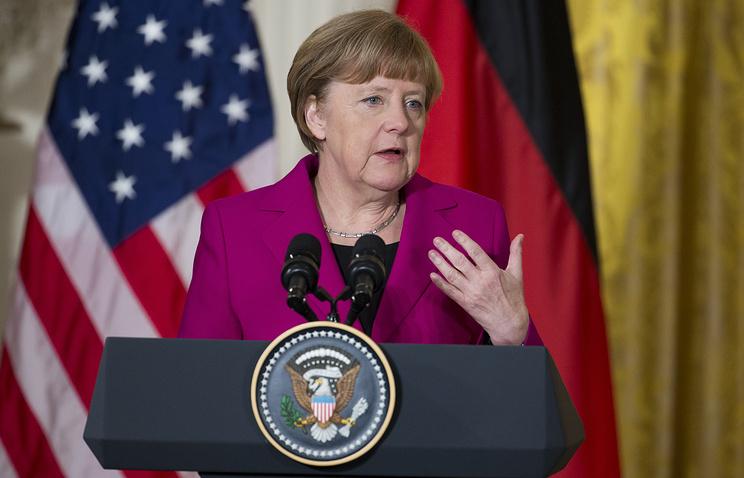Kанцлер ФРГ Ангела Меркель