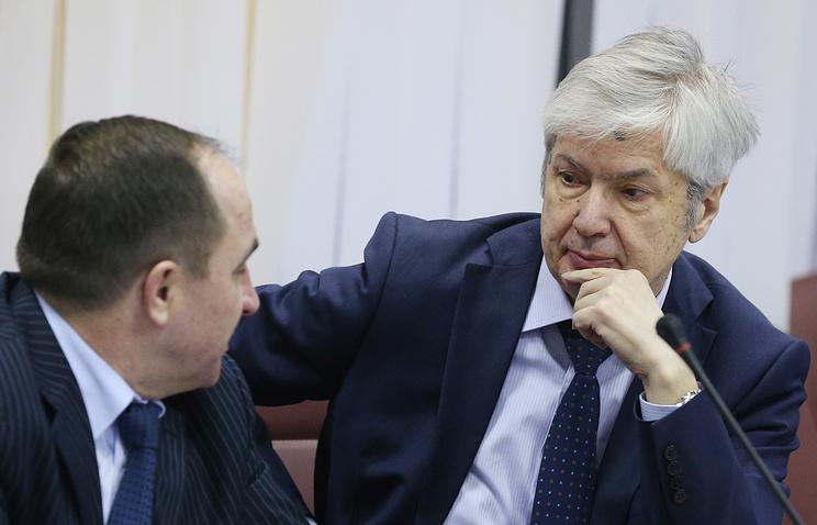 Генеральный секретарь Российского футбольного союза Анатолий Воробьев