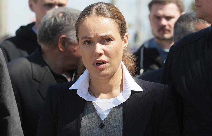 """Депутат украинского парламента от """"Оппозиционного блока"""" Наталия Королевская"""