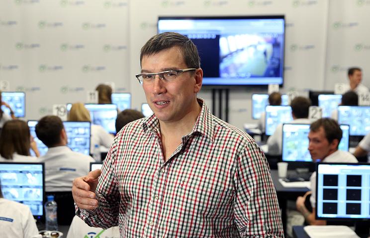Глава департамента науки, промышленной политики и предпринимательства Москвы Олег Бочаров