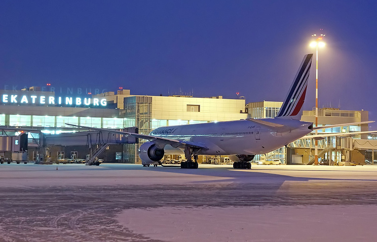Резервный борт авиакомпании Air France