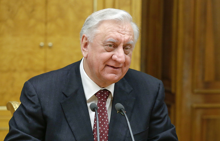 Председатель верхней палаты парламента Белоруссии Михаил Мясникович