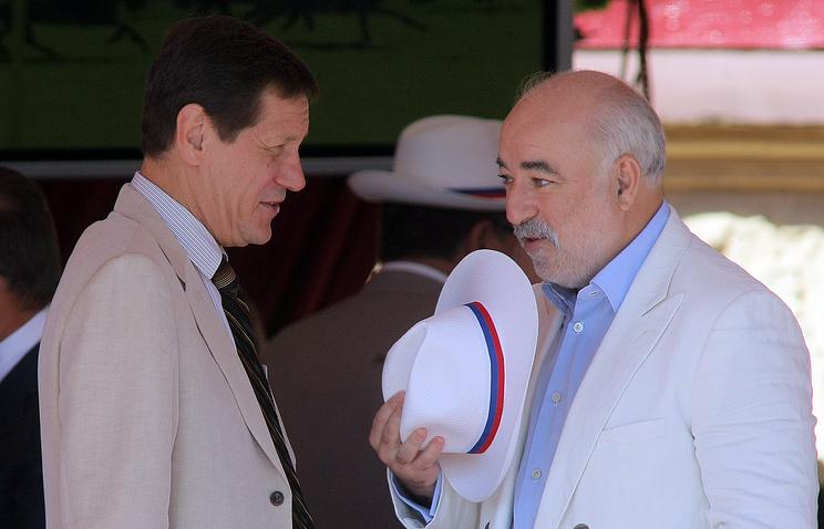 Александр Жуков и Виктор Вексельберг