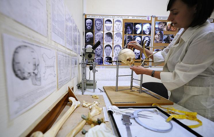 Архив. Работы по восстановлению внешности человека по черепу в отделе медико-криминалистических экспертиз Экспертно-криминалистического центра