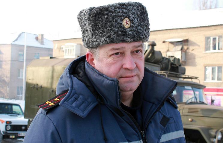 Глава МЧС ЛНР Сергей Иванушкин