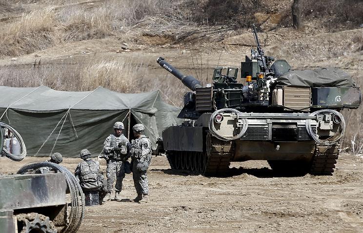 Американо-южнокорейские маневры Key Resolve