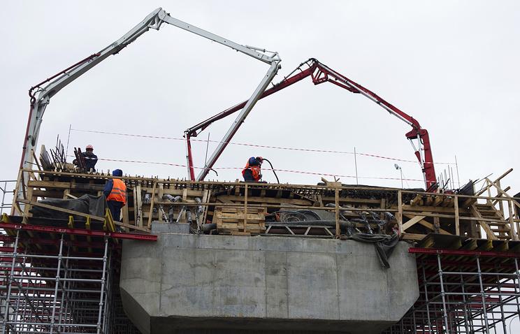 Реконструкция транспортной развязки на пересечении Каширского шоссе и МКАД