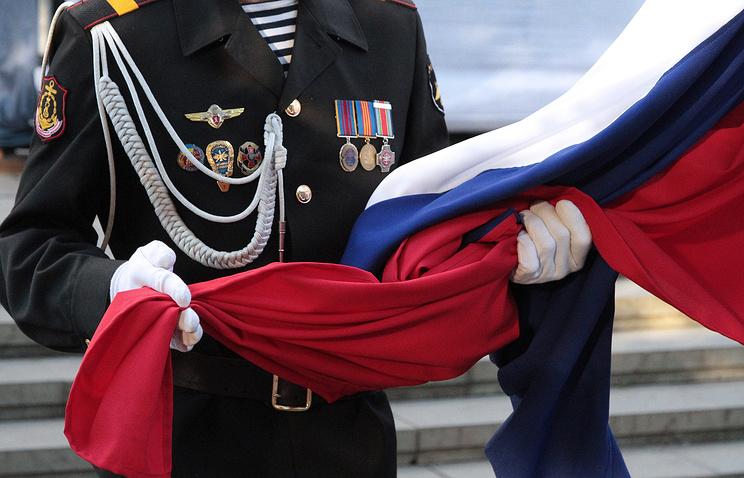 Празднование Дня Государственного флага РФ в Крыму