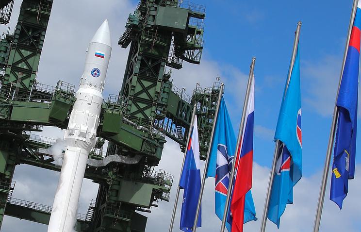"""Ракета легкого класса """"Ангара-1.2ПП"""" на космодроме """"Плесецк"""""""