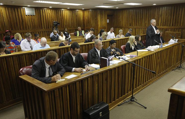 Рассмотрение апелляции по делу Оскара Писториуса в суде Йоханнесбурга
